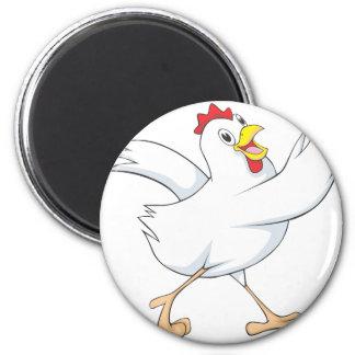 Happy Chicken Hen Magnet