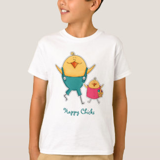 Happy Chicks. Easter Gift Kids' T-Shirts