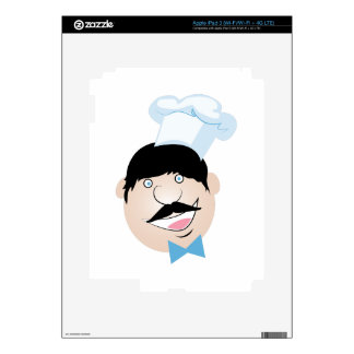 Happy Chief Decal For iPad 3