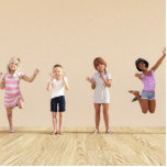 Happy Children in a Day Care or Daycare Center Cutout