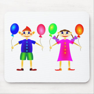 Happy children mouse pad