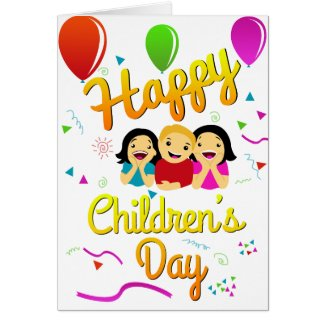 Cards postage products design time happy childrens day greeting card m4hsunfo