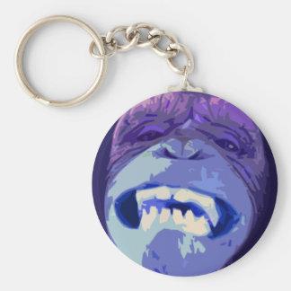 Happy Chimp Keychain