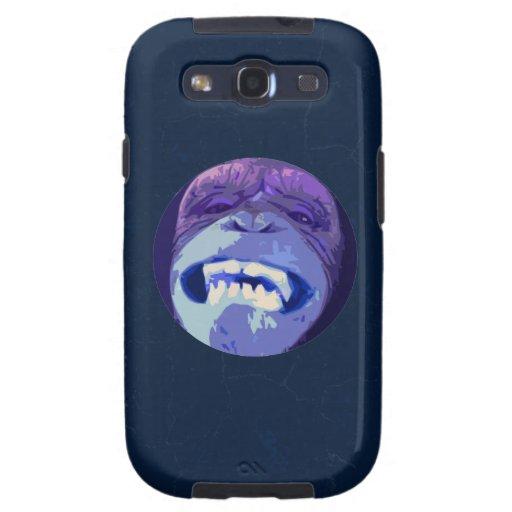 Happy Chimpanzee monkey face Samsung Galaxy S3 Cover