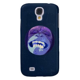 Happy Chimpanzee monkey face Samsung Galaxy S4 Case