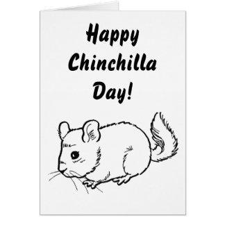 Happy Chinchilla Day! Card