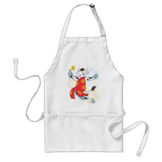 Happy Chinese Cow Adult Apron