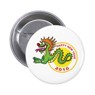 Happy Chinese New Year 2010 Pinback Button