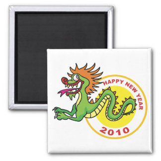 Happy Chinese New Year 2010 Refrigerator Magnet