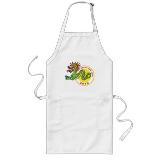 Happy Chinese New Year 2012 Long Apron
