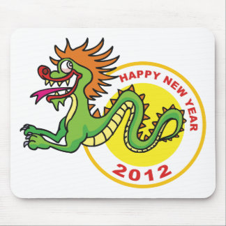 Happy Chinese New Year 2012 Mouse Pad