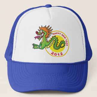 Happy Chinese New Year 2012 Trucker Hat