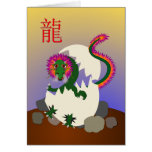 Happy Chinese New Year 2012 - Year of the Dragon Greeting Card