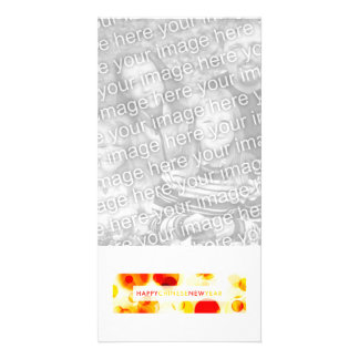 Happy Chinese New Year (bokeh) Photo Card Template
