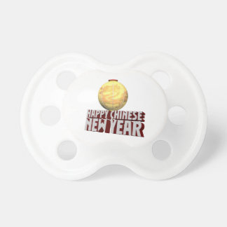 Happy Chinese New Year BooginHead Pacifier
