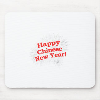 Happy Chinese New Year Design Mouse Pad