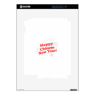 Happy Chinese New Year Design Skin For The iPad 2