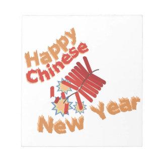 Happy Chinese New Year Memo Pads