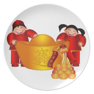 Happy Chinese New Year Plate