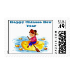 Happy Chinese New Year Postage