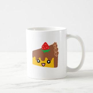Happy Chocolate Cake Classic White Coffee Mug