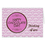 Happy Chocolate Day! Greeting Card