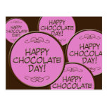 Happy Chocolate Day! Post Card
