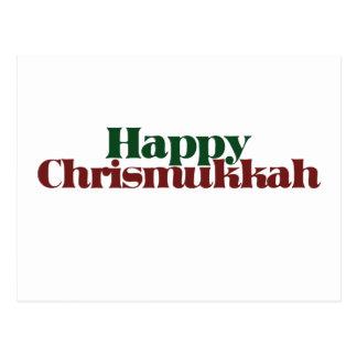 Happy Chrismukkah Postcard