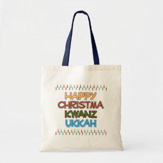HAPPY CHRISTMAKWANZUKKAH TOTE BAG
