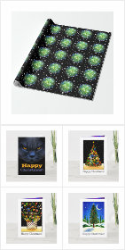 Happy Christmas and Holiday Cards and Gifts