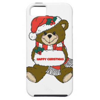 Happy Christmas Bear iPhone SE/5/5s Case