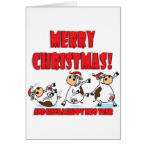 Happy Christmas Breakdancing Card