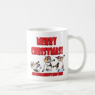 Happy Christmas Breakdancing Coffee Mug