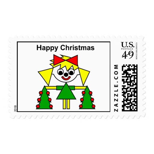 Happy Christmas - from Lucca Postage