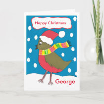 Happy Christmas George Holiday Card