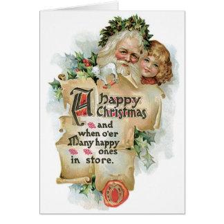 Happy Christmas Greeting Card