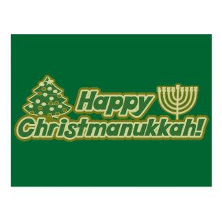 Happy Christmas hanukkah Kwanzaa Post Cards