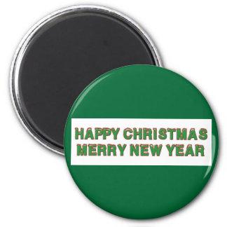 Happy Christmas Magnet