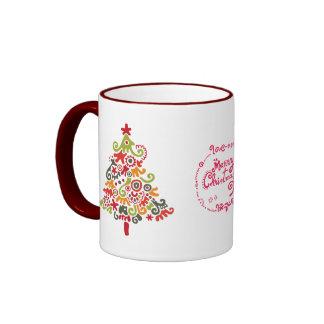 Happy Christmas Coffee Mugs