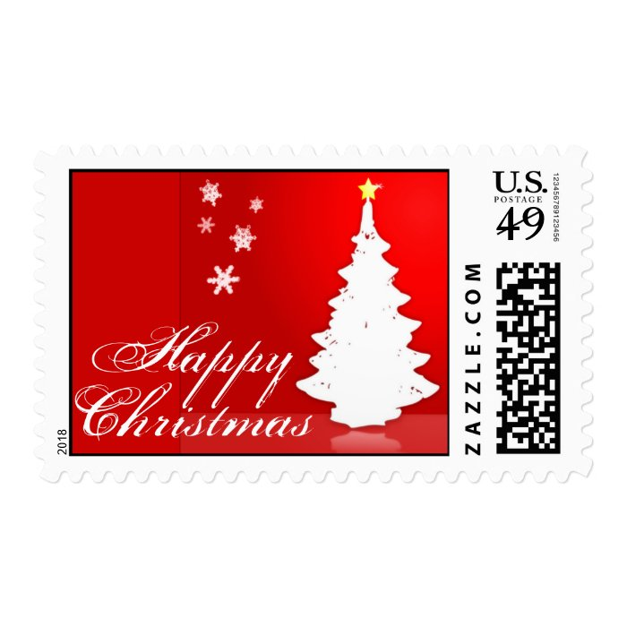 Happy Christmas Postage