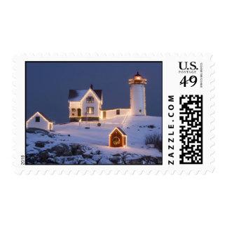 Happy Christmas Postage Stamp
