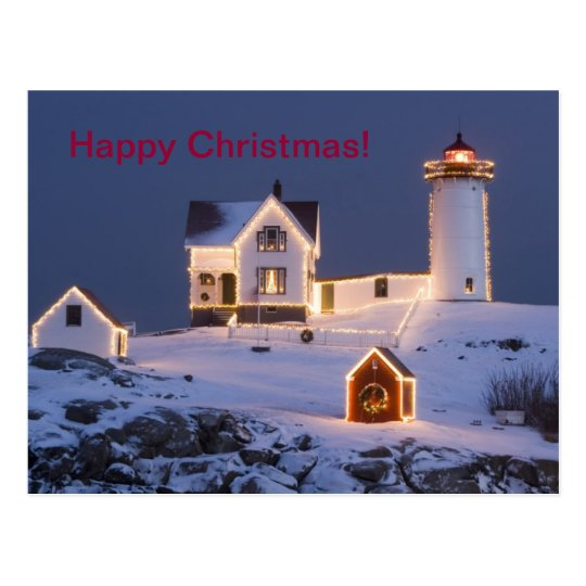 Happy Christmas Postcard