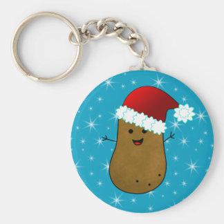 Happy Christmas Potato Keychain