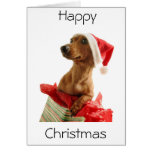 Happy Christmas Puppy Card