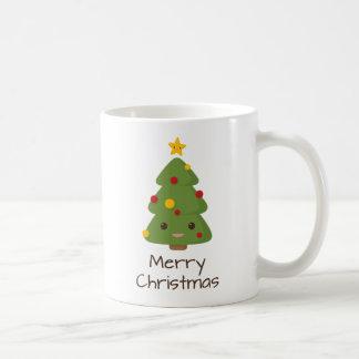 Happy Christmas Tree Coffee Mug