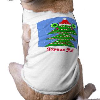 Happy Christmas Tree Pet T-Shirt