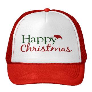 Happy Christmas U K Hats