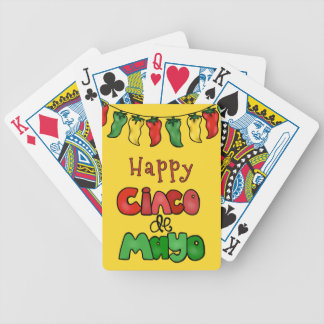 Happy Cinco de Mayo Bicycle Playing Cards