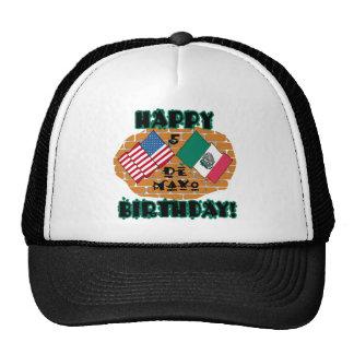 Happy Cinco de Mayo Birthday Trucker Hat
