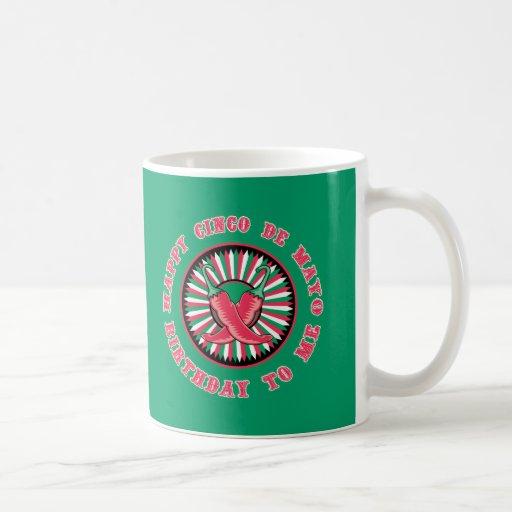 Happy Cinco de Mayo Birthday! Classic White Coffee Mug